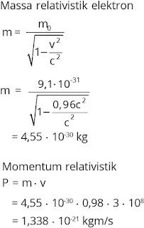 Pembahasan soal relativitas nomor 5
