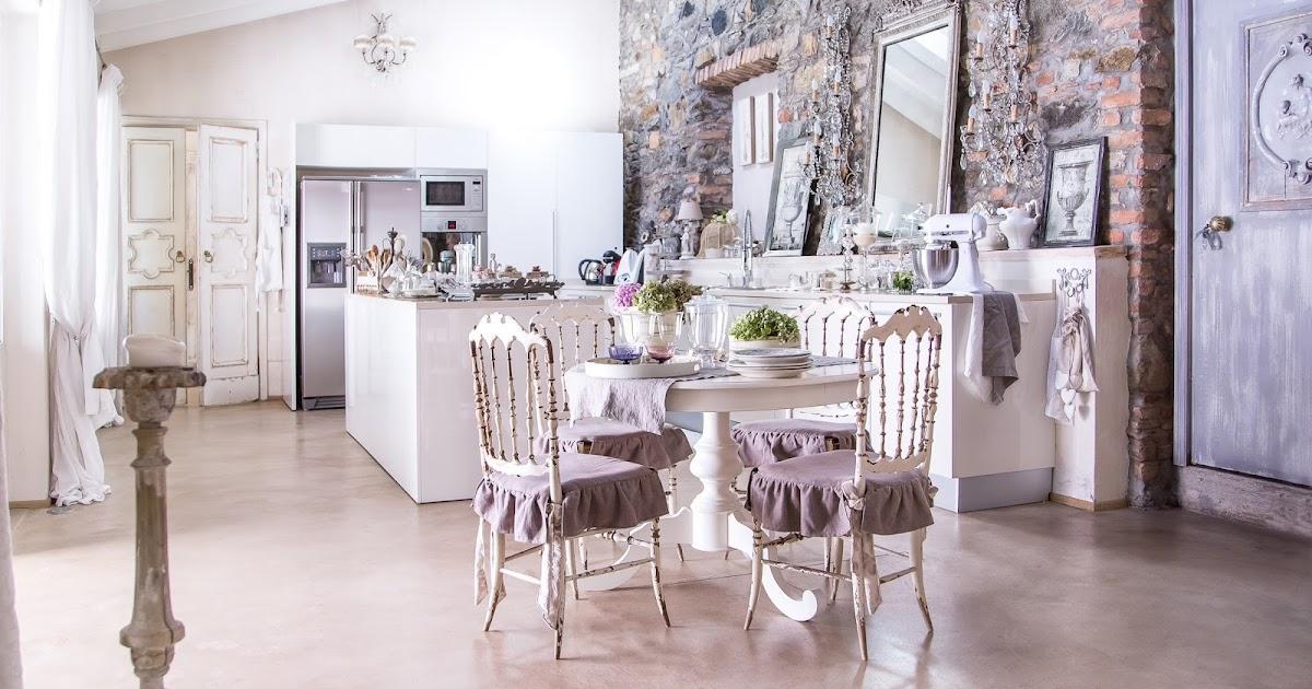 Una casa in stile provenzale   shabby chic interiors