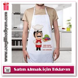 Babaya Özel Mutfak Önlükleri