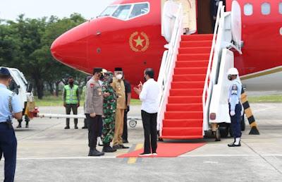 Presiden RI Ir Joko Widodo Tinggalkan Aceh