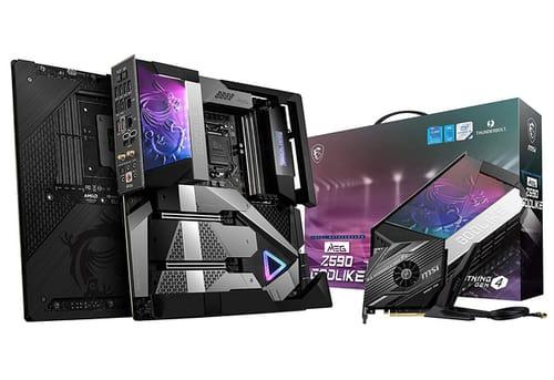 MSI MEG Z590 GODLIKE Gaming Motherboard
