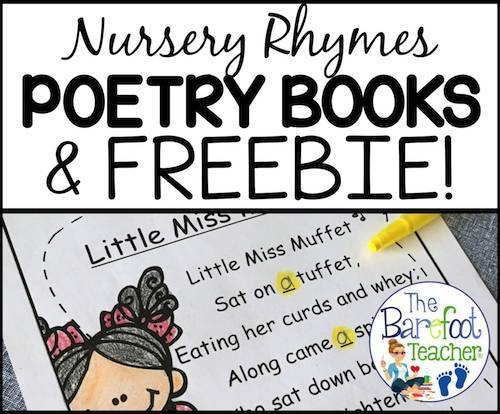 Nursery Rhymes poetry activities for kids