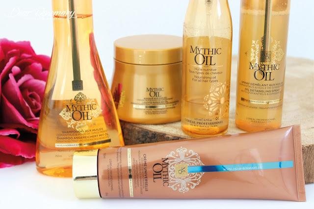 La gamme Mythic Oil par L'Oréal Professionnel.