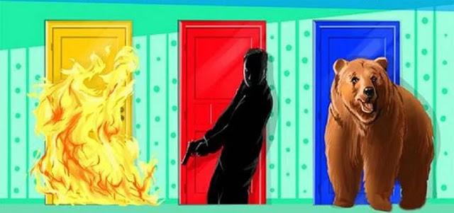 Психологический тест: Выбранная дверь откроет ваш инстинкт самосохранения