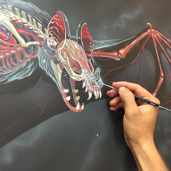 drawings by the artist NYCHOS