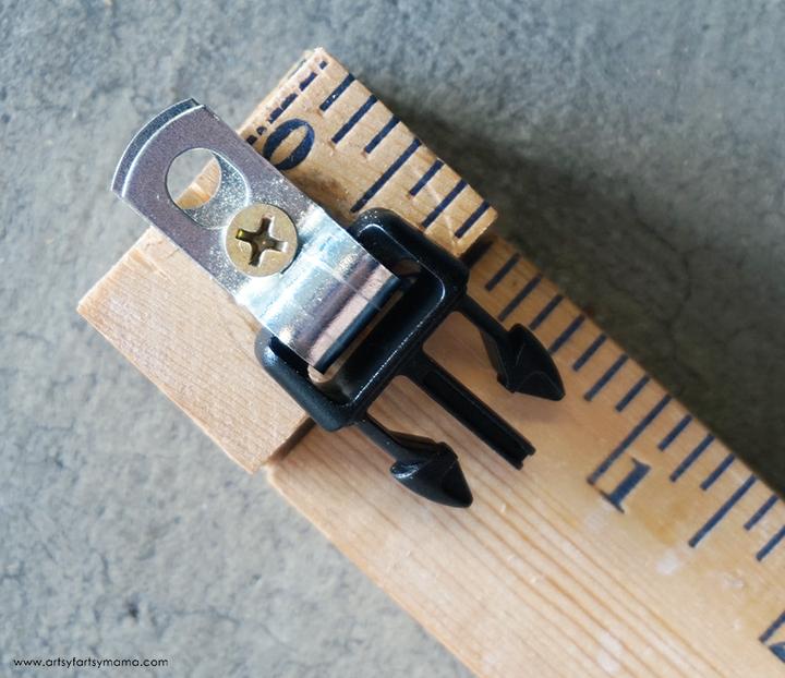 DIY Paracord Jig Clip Piece