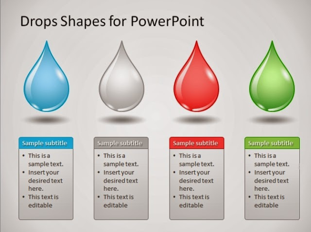 Download high quality powerpoint templates and diagrams drop shapes diagram powerpoint template pronofoot35fo Images