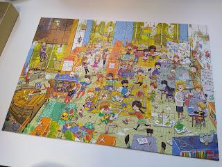 Puzzle z Wydawnictwa Nasza Księgarnia - recenzja