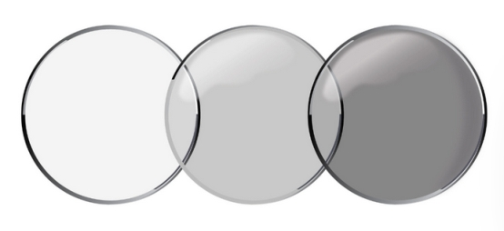 transition contact lenses that get darker in sunlight