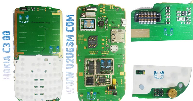 Cell Firmware: Nokia C300 Full PCB Diagram Mother Board
