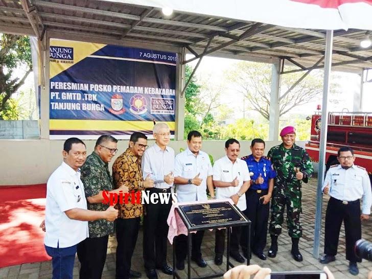 Pj Walikota Makassar, Apresiasi Kepedulian Direksi PT GMTD Tbk