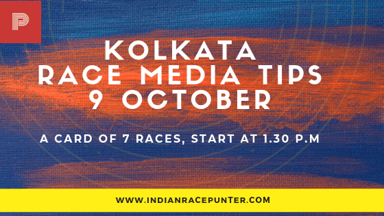 Kolkata Race Media Tips 9 October