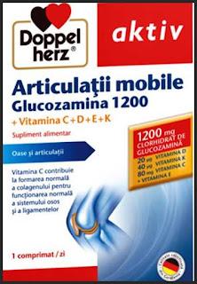 Articulatii mobile Glucozamina 1200 pareri forum suplimente