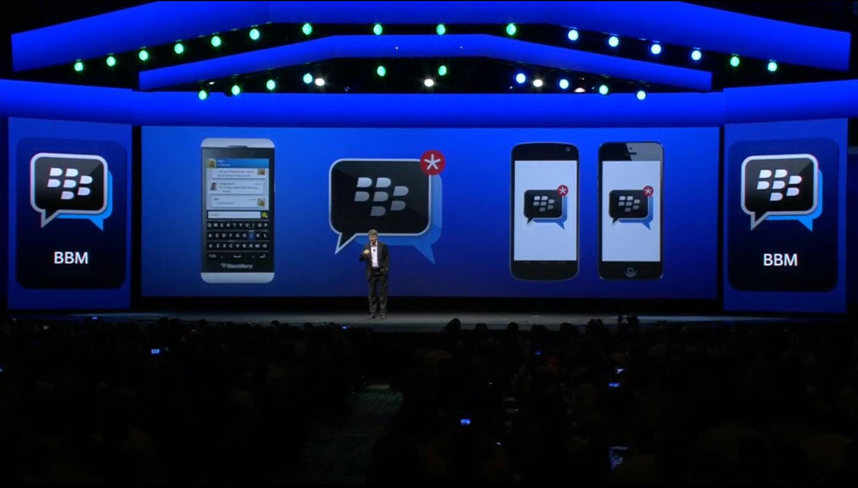 Press Release BlackBerry Messenger tersedia di iOS Android pada BBLive 2013