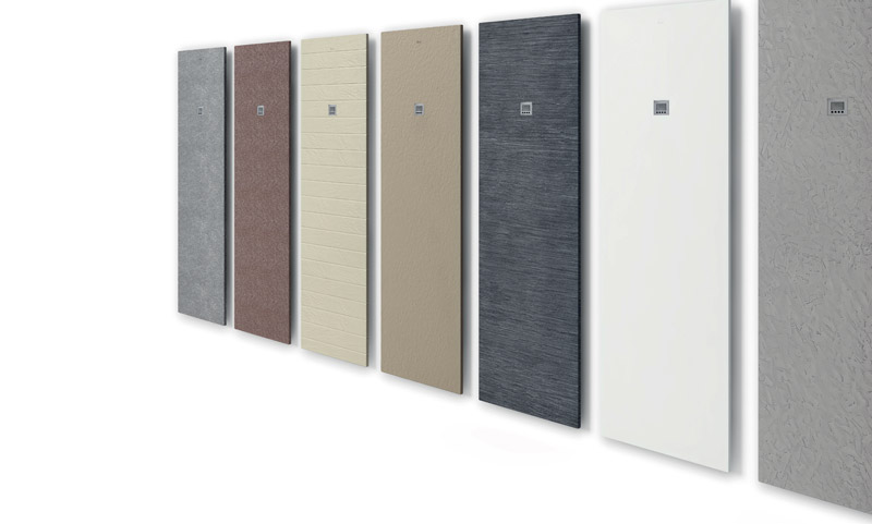 colori radiatori elettrici Vulcano di Fiora