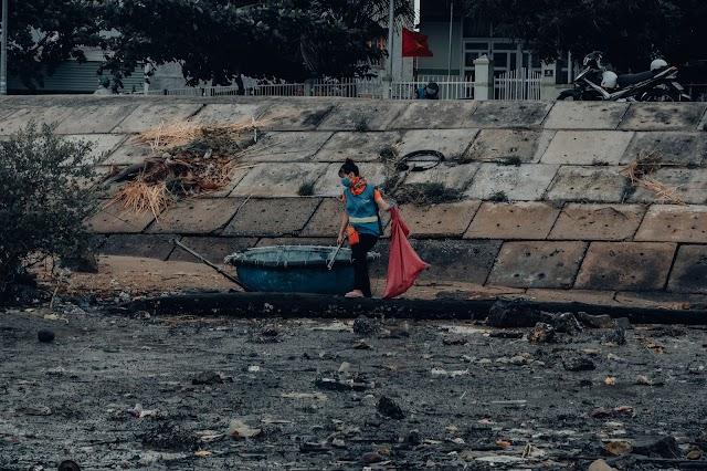 Chiến Dịch Ngưng xả rác Đông - Xuân 2020. TÂM TÌNH CÙNG ĐẤT MẸ