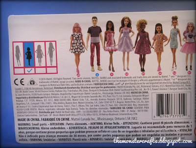 Barbie Fashionistas Petite Box Monster Crafts