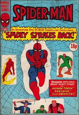 Spider-Man pocket Book #14, the Enforcers