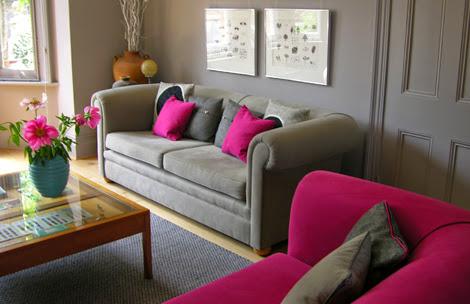 Προτάσεις διακόσμησης για γκρι καναπέ