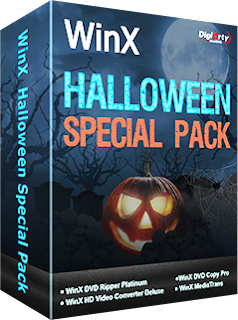 WinXDVD Halloween Special Pack Discount Coupon