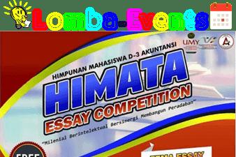 Lomba Essay Nasional HIMATA UMY 2019 Umum Gratis