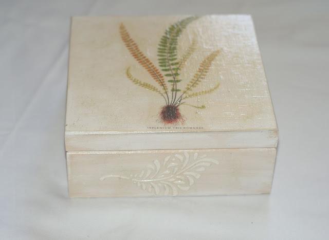 Pudełko-inspirowane naturą