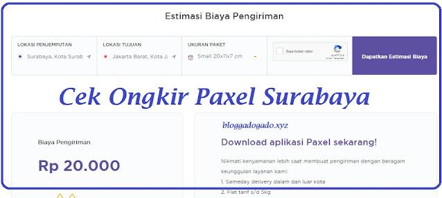 informasi mengenai paxel surabaya terdekat lengkap dengan Alamat, nomor telepon, call center, cek tarif ongkir dan juga Jam buka.