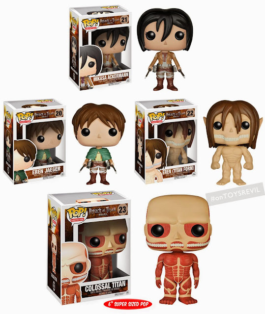 Attack On Titan Pop! Vinyls from Funko (for General ...
