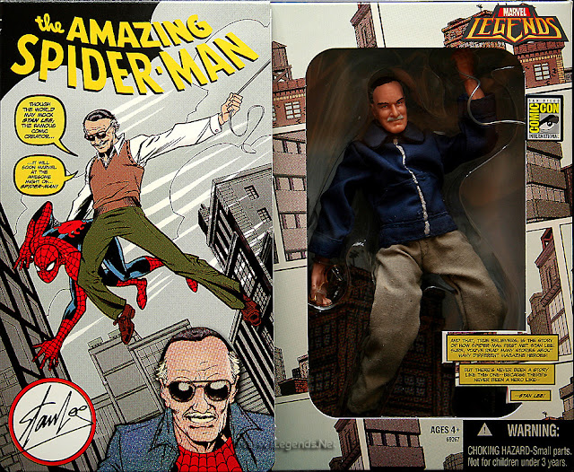 NYCC 2019 Marvel Legends Stan Lee, Hasbro, Marvel80