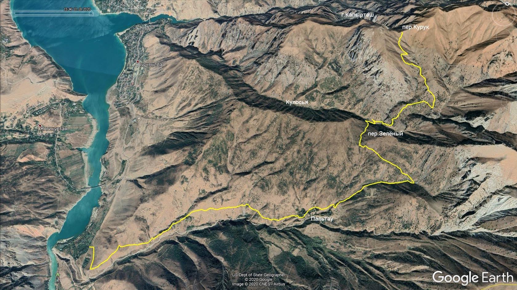 Курук: нитка маршрута 2
