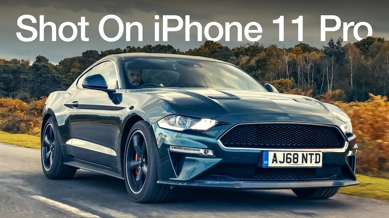 Bullitt Mustang Shot On An iPhone
