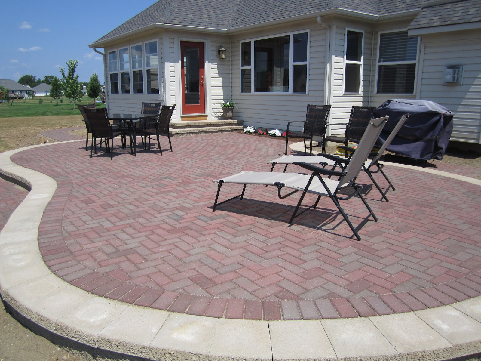 Howard County Patio Jobs. These Are Photos Of Some Patios We Have Installed  In Howard County. We Service The Baltimore Metro Area As Well.