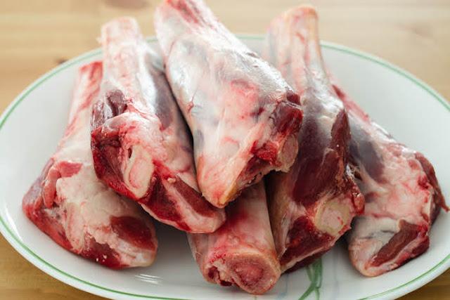 raw lamb shanks