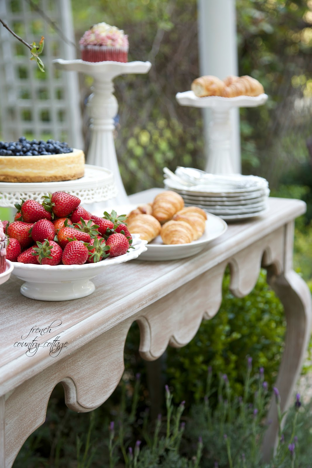 French Country Garden Party