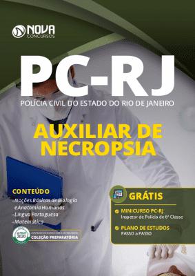 Apostila Concurso Polícia Civil RJ 2020 Auxiliar de Necropsia Download PDF Grátis Curso Online