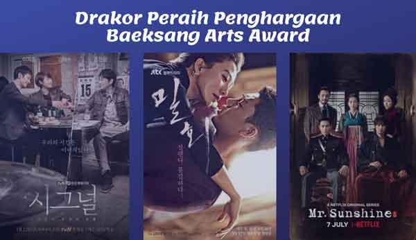 drakor peraih penghargaan baeksang arts award