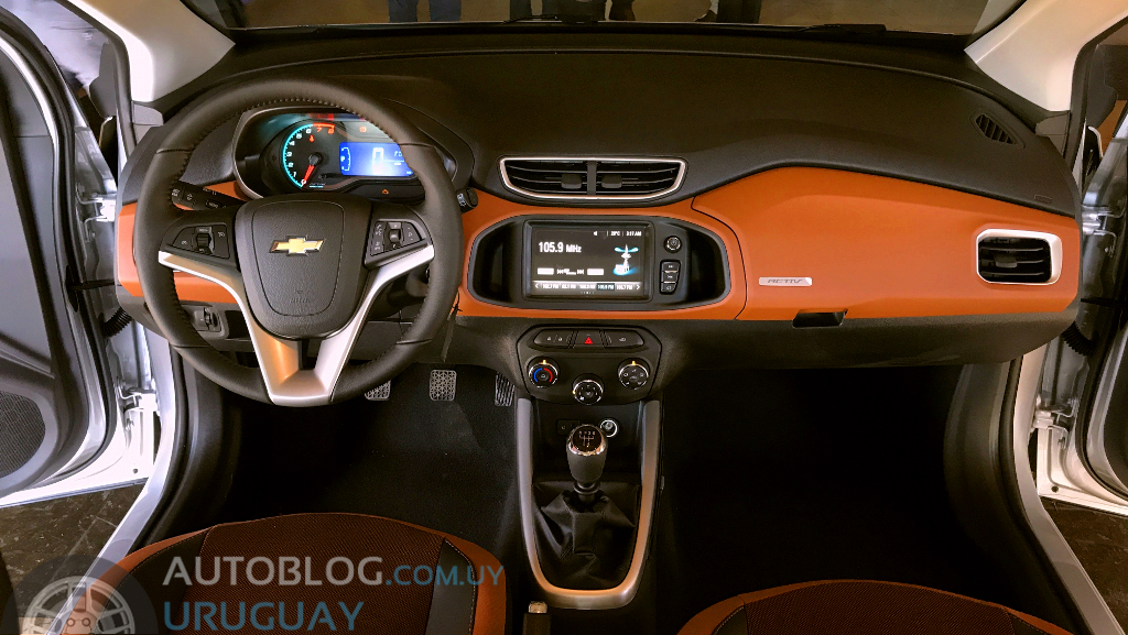 Apuntes Del Lanzamiento Del Chevrolet Onix Activ Autoblog Uruguay