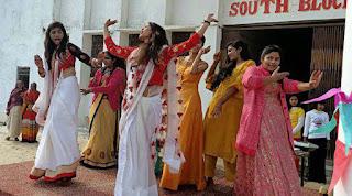 Jaunpur : एबीएस स्कूल में पतंगबाजी के साथ हुये सांस्कृतिक कार्यक्रम