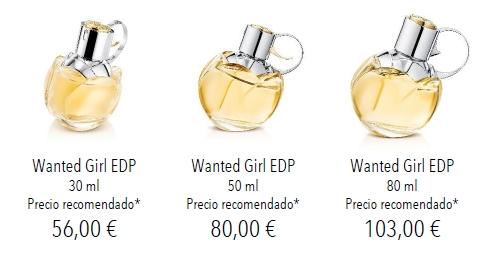 precios wanted girl