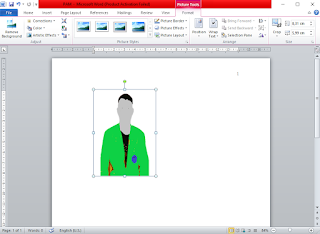 Cara Mengganti Background Foto Tanpa Photoshop dengan Ms. Word