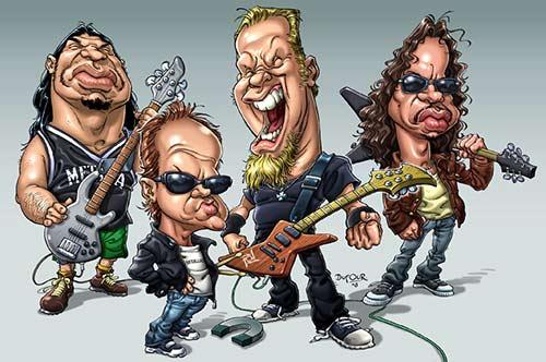 """Metallica"" por Santiago Dufour"