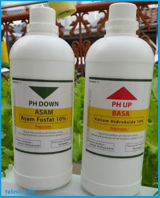 Formula untuk Mengatur pH Air Hidroponik