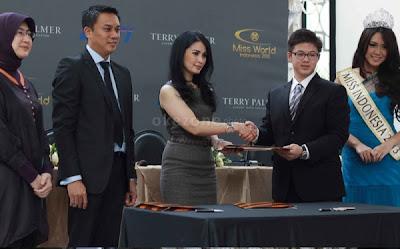 Terry Palmer Resmi Menjadi Sponsor Utama Miss World 2013