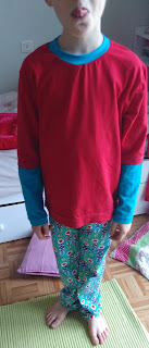 Bulle et Funambule-pyjamas 2016