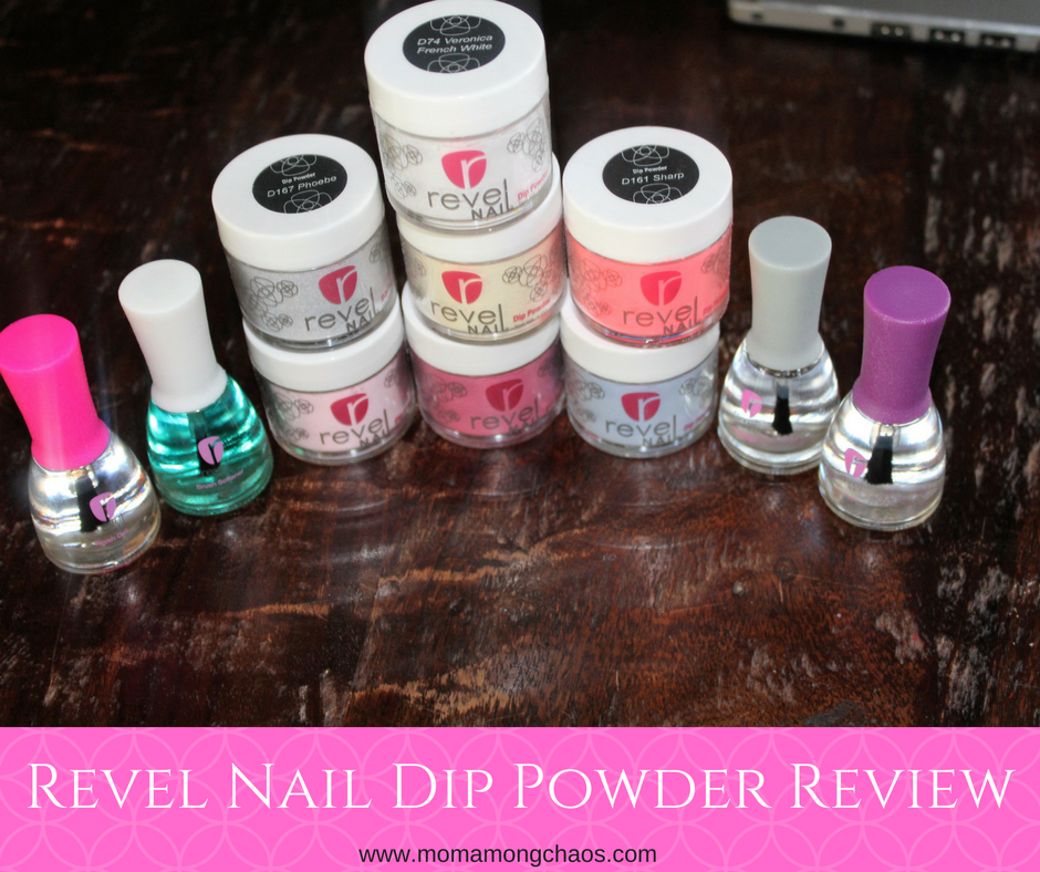 Mom Among Chaos: Revel Nail Dip Powder Review