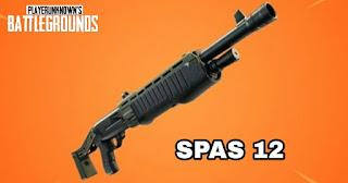 سلاح spas 12 ببجي موبايل