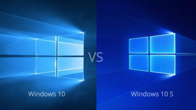 diferencias entre windows 10 y windows 10 s