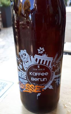Brasserie des trois becs bière rousse Kaffee Berlin
