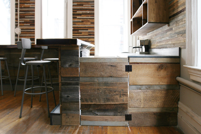Inthemo S Reclaimed Wood Bar