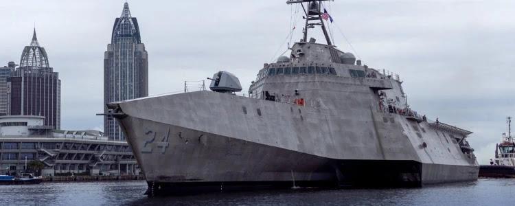 ВМС США ввели в експлуатацію USS  Oakland  (LCS-24)